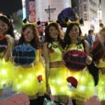 渋谷ハロウィン 2019 着替え 更衣室 メイク