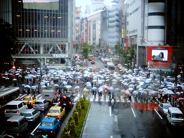渋谷ハロウィン 2019 雨対策