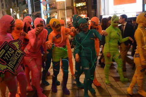 渋谷ハロウィン 2019 コスプレ衣装 当日 購入