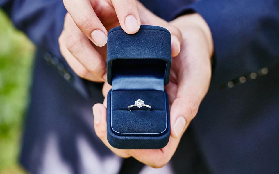 クリスマスプレゼント 指輪 重い